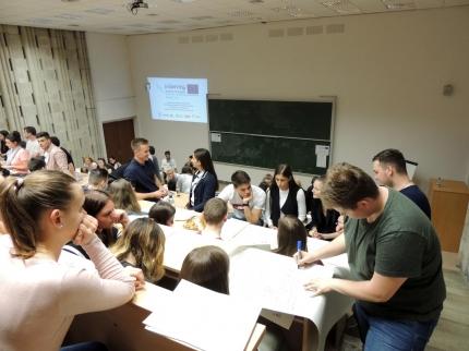 2018.04.16. SMART-UP ötletgeneráló rendezvény Győr