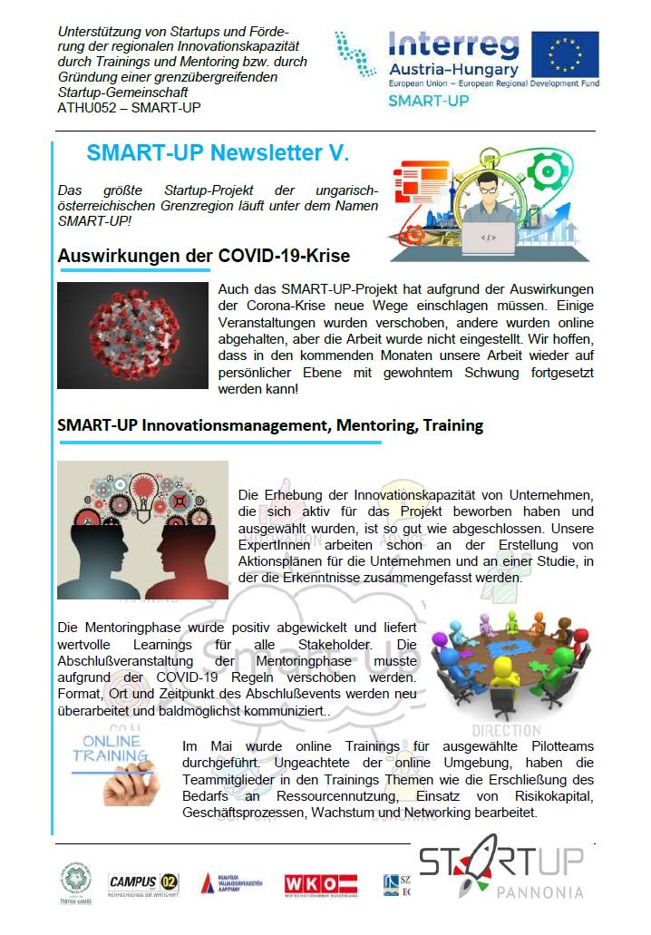 SMART-UP Newsletter V.