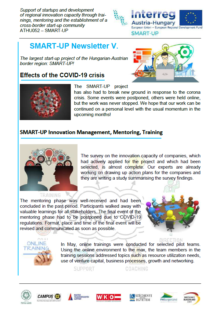 SMART-UP Newsletter V.