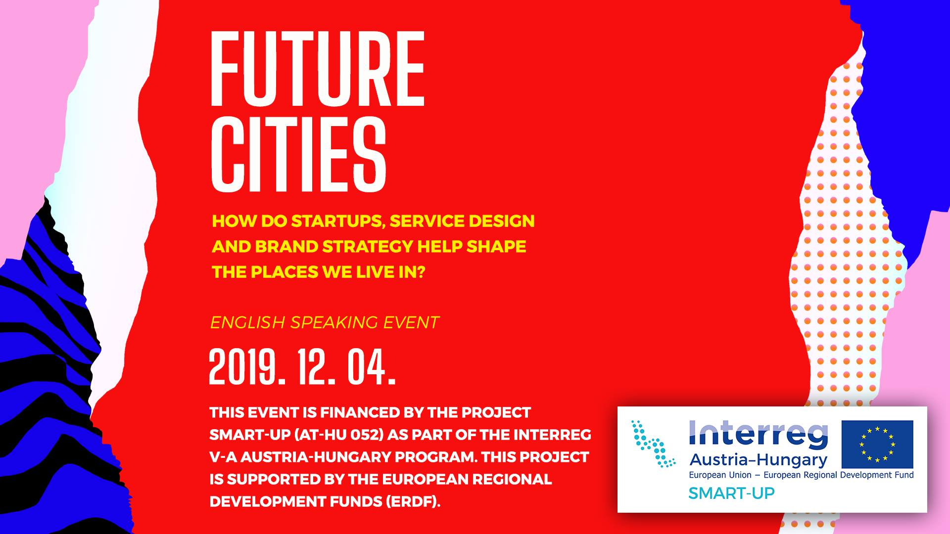 Future Cities: an event on Startups, Service Design and Branding
