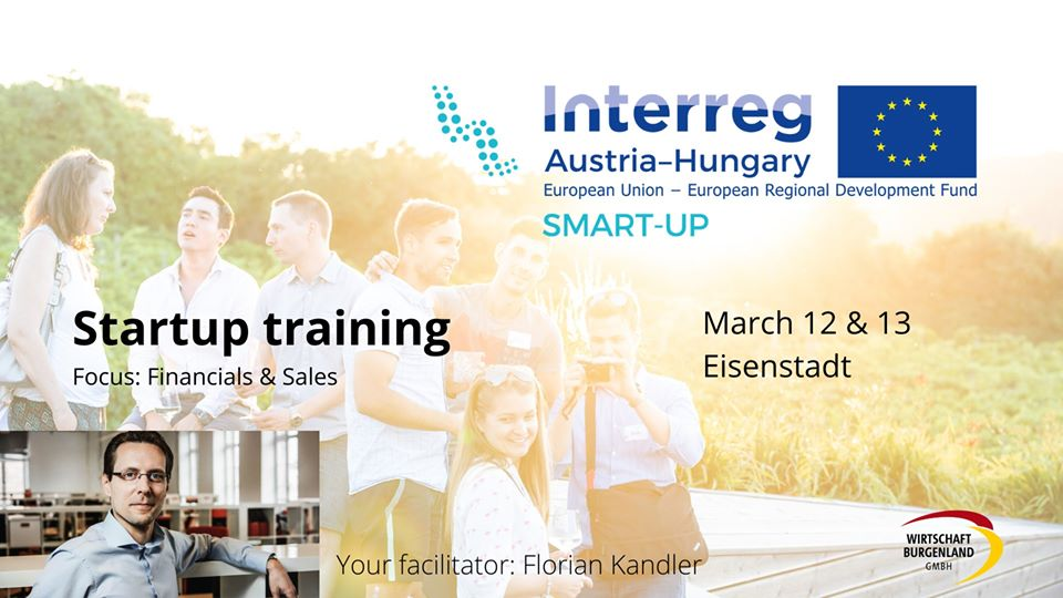 Startup Training- Financial & Sales